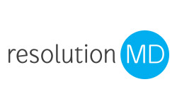 Logo for resolutionMD