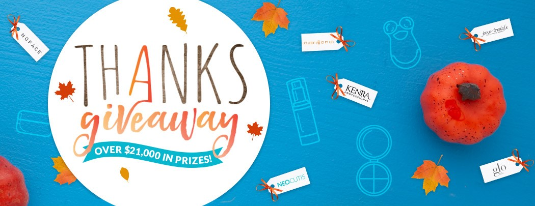 LovelySkin's Seventh Annual Thanksgiveaway
