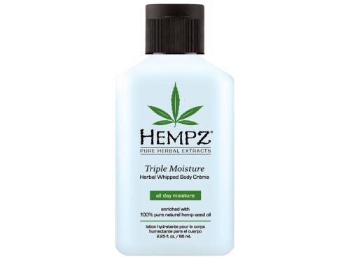 Hempz Triple Moisture Herbal Whipped Body Cream - Travel Size