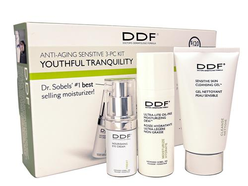 DDF Youthful Tranquility Anti-Aging Kit for Sensitive Skin