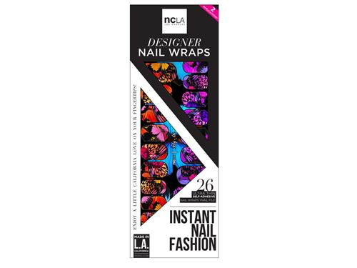 ncLA Nail Wraps - Fly Me Away