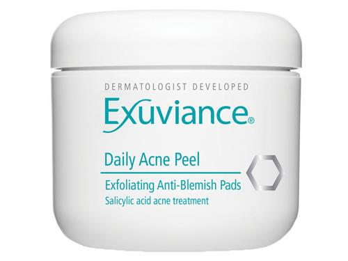 Exuviance Daily Acne Peel, an Exuviance peel