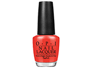 OPI Euro Centrale My Paprika is Hotter than Yours!