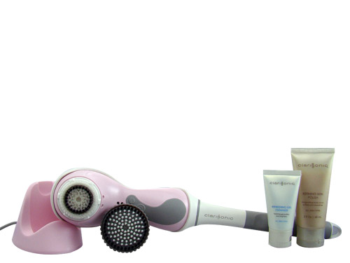 Clarisonic Pro Sonic Skin Cleansing System for Face & Body with Extension Handle Pink