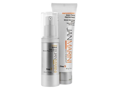Jan Marini C-ESTA Serum & Antioxidant Daily Face Protectant SPF 33 Duo