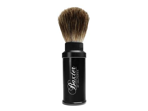 Baxter of California Aluminum Travel Shave Brush