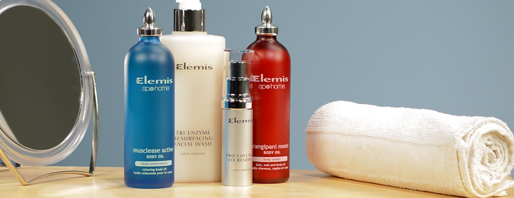 Learn about Elemis skin care products with LovelySkin!