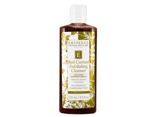 Buy Eminence Red Currant Exfoliating Cleanser, an exfoliating gel cleanser, now.