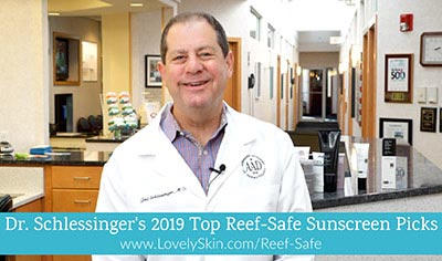Dr Schlessinger's Top Reef Safe Sunscreens for 2019