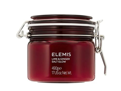 Elemis Lime and Ginger Salt Glow, an Elemis body scrub