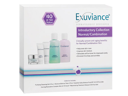 Exuviance Introductory Collection Normal/Combination Skin