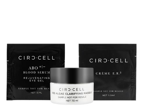 Free $22.50 Circ-Cell 3 Piece Sample Set
