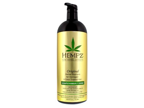 Hempz Haircare Original Shampoo for Damaged & Color Treated Hair Liter