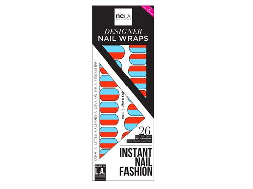 ncLA Nail Wraps - Hot & Cold