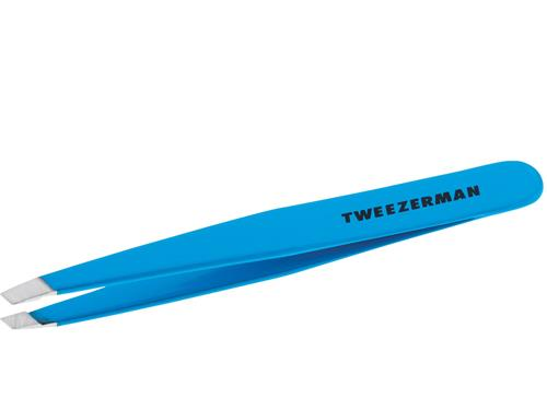 Tweezerman Slant Tweezer - Blue Jewel