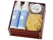 LATHER Lavender Lime Spa Set