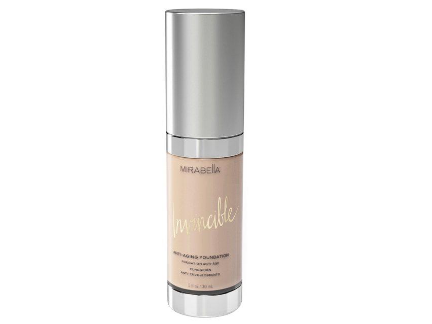 Mirabella Invincible Anti-Aging Foundation - 0 Porcelain
