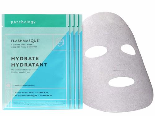 patchology Hydrate FlashMasque Facial Sheets - 4 Pack