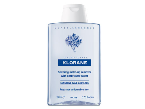 Klorane Soothing Makeup Remover with Cornflower Water Sensitive Face and Eyes