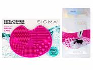 Free $10 Sigma Beauty Brush Cleansing Mini Mat & Brushampoo