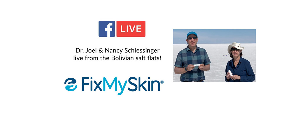 Live from the Bolivan Salt Flats with the Schlessinger's!