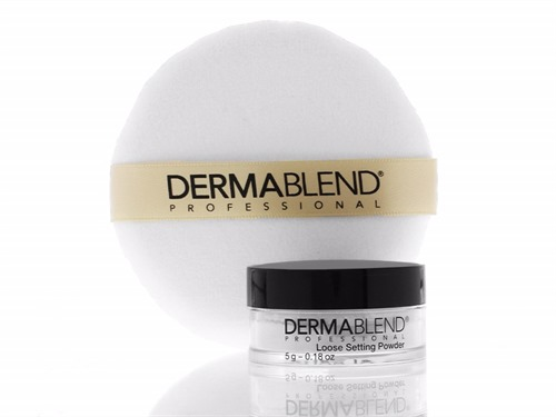 Free $18 Dermablend Loose Setting Powder & Powder Puff Duo