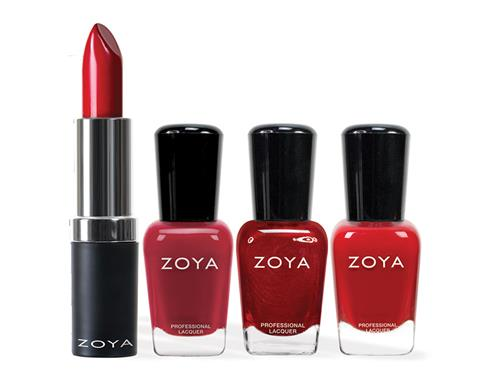 Zoya Lips and Tips Limited Edition Set - Red