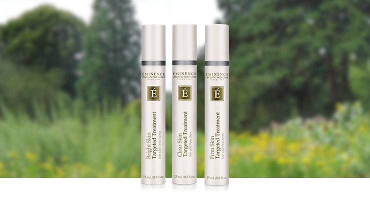Take Aim at Specific Skin Issues with New Eminence Targeted Treatments