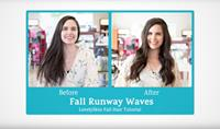Fall Runway Waves Hair Tutorial
