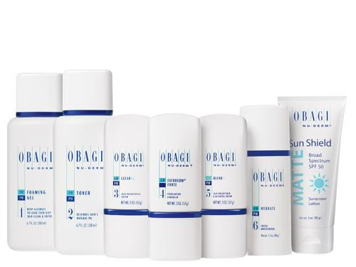 Obagi Nu-Derm Fx Starter System - Normal to Oily Skin: buy this Obagi Nu Derm Fx System at LovelySkin.com.