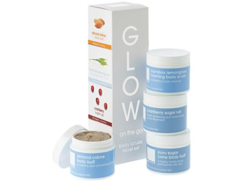 LATHER Glow On The Go Travel Set
