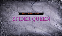 Halloween How-to: Spider Queen