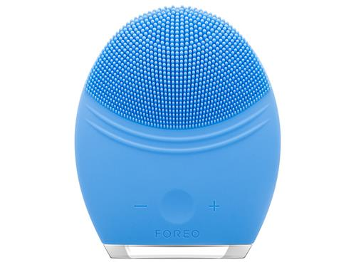 FOREO LUNA 2 Professional Personalized Facial Cleansing Brush & Anti-Aging Device - Aquamarine
