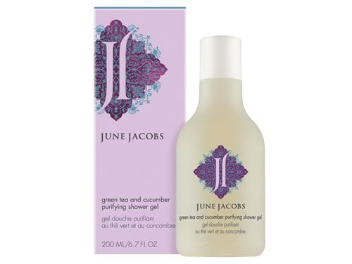 June Jacobs Green Tea and Cucumber Purifying Shower Gel