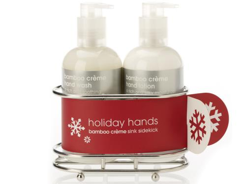 LATHER Holiday Hands - Bamboo Creme Sink Sidekick