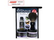 eShave Travel Shaving Kit TSA