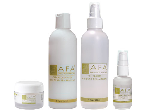 AFA Wrinkle Relief Starter Set for Normal Skin - Step Two Plus