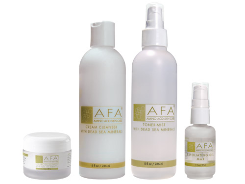 AFA Wrinkle Relief Starter Set for Dry Skin - Step Three Max
