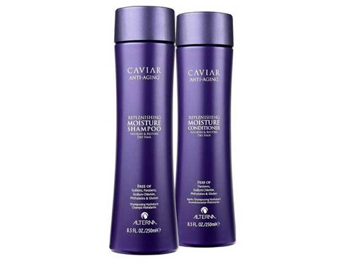 Alterna Caviar Replenishing Moisture Shampoo and Conditioner Duo Limited Edition