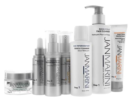 Jan Marini Skincare Collection Plus for Normal/Combination Skin with Jan Marini Transformation Cream