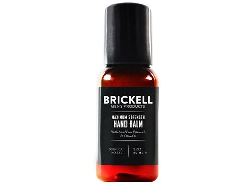 Brickell Maximum Strength Hand Balm Travel Size