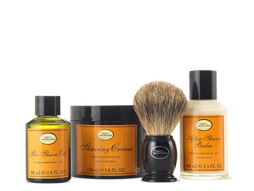 The Art of Shaving 4 Elements Kit - Lemon