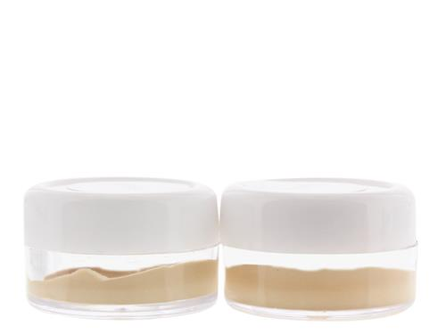 Oxygenetix Oxygenating Foundation Color Matching Samples - Pearl and Ivory