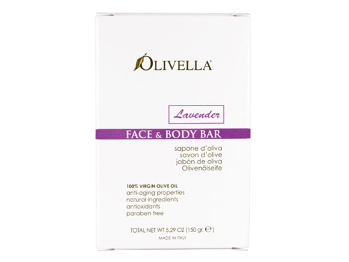 Olivella Face & Body Bar Lavender