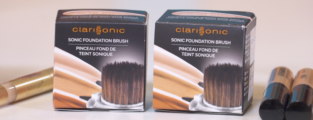 Unboxing the Clarisonic Foundation Makeup Brush