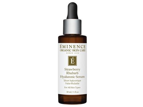 Free $48 Eminence Organics Strawberry Rhubarb Hyaluronic Serum