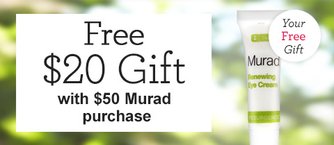 Free $20 Travel-Size Murad Resurgence Renewing Eye Cream!