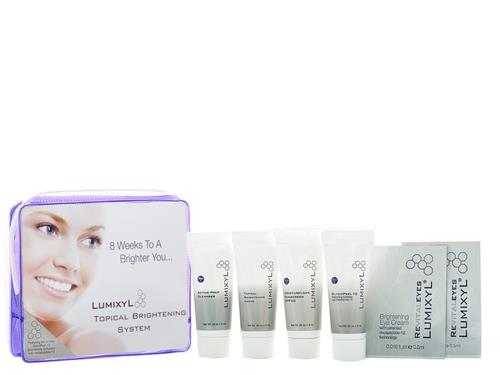 Lumixyl Topical Brightening System Travel Kit with GlycoPeel 10
