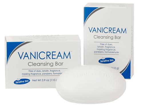 Vanicream Cleansing Bar, a fragrance-free Vanicream soap