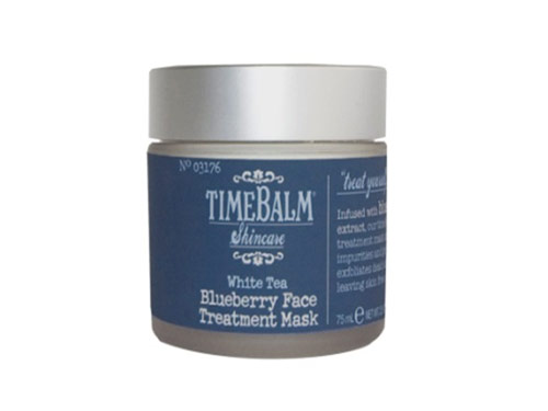 theBalm TimeBalm Skin Care Blueberry Face Treatment Mask